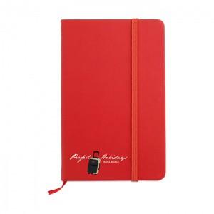 Σημειωματάριο AR1800 Χρώμα - Κόκκινο
